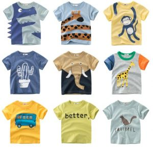 Cotton T-shirts for Boys Aliexpress